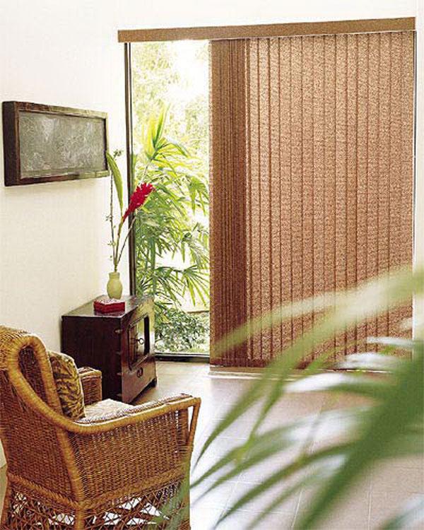 Горизонтальные деревянные и бамбуковые жалюзи